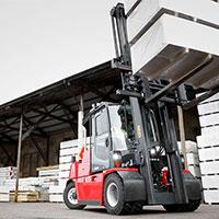 Forklift Trucks 5-9 Ton