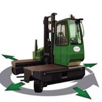 Combilift 4 Wheel Sideloader